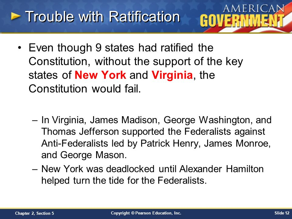 Trouble with Ratification