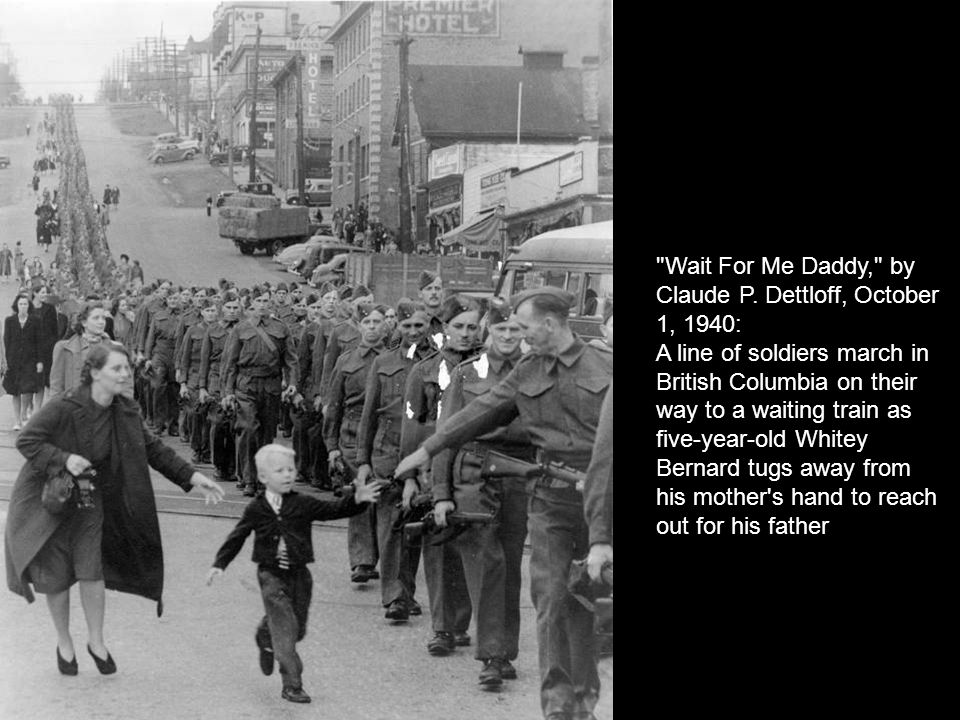 Wait For Me Daddy, by Claude P. Dettloff, October 1, 1940: