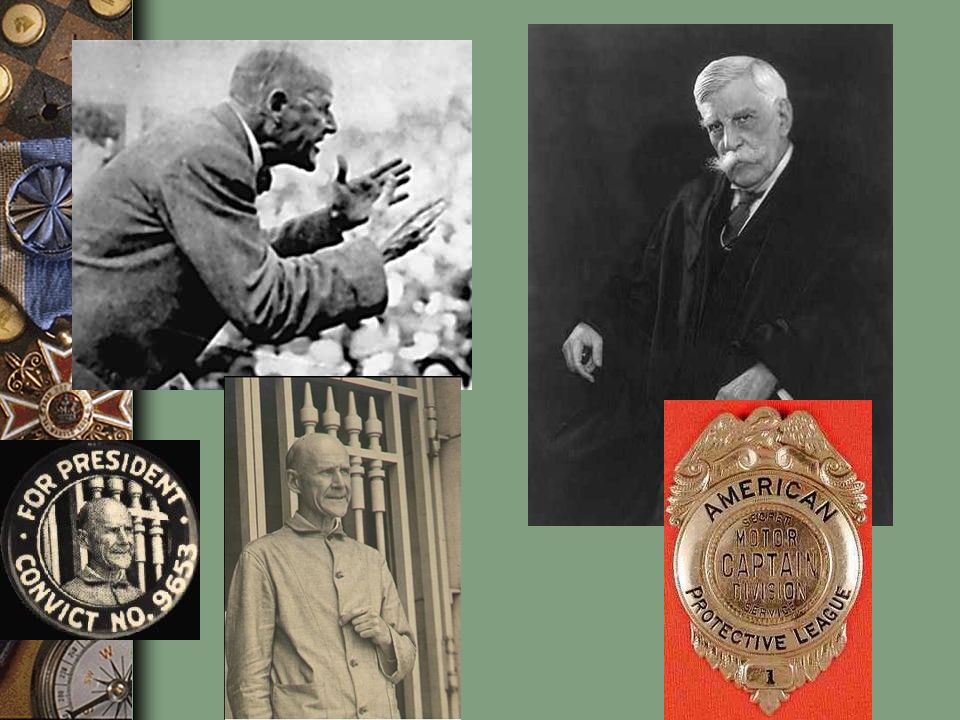 Debs defended his comrades who had already been sent to jail for speaking against the war, some of them his close friends, and he disputed the common charge that the Socialists were pro-German. He added that America's greatest enemy was not the Kaiser, but those American businessmen who had taken the country to war, and were making inordinate profits from the venture. Debs also repeated the standard socialist talking point that wars were a nasty by-product of capitalist greed, and that when working people took charge of the earth, peace would reign. The most often quoted line from that speech was Debs's comment, you need to know that you are fit for something better than slavery and cannon fodder.