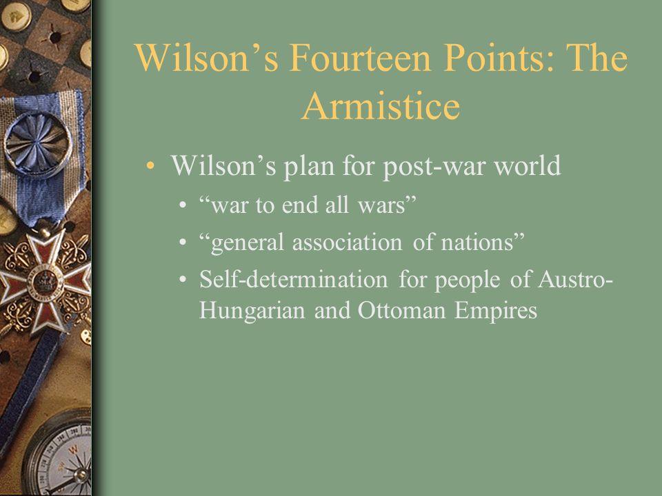 Wilson's Fourteen Points: The Armistice