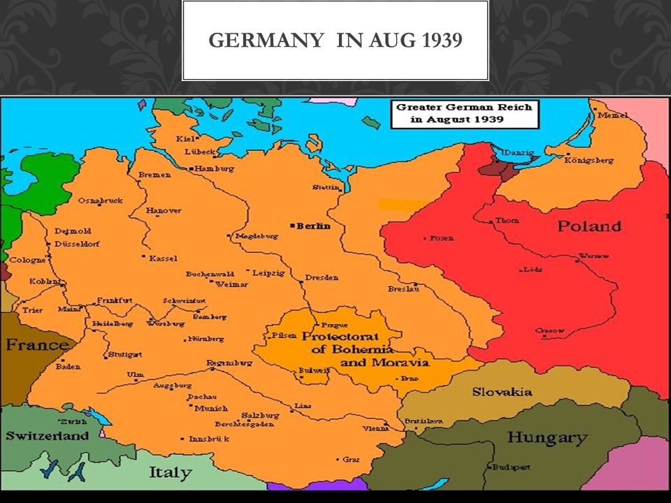 Germany in Aug 1939