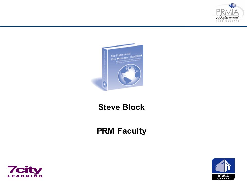 Steve Block PRM Faculty