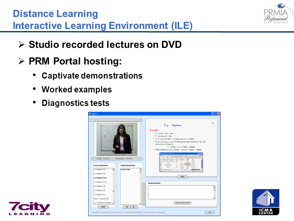 Distance Learning Interactive Learning Environment (ILE)
