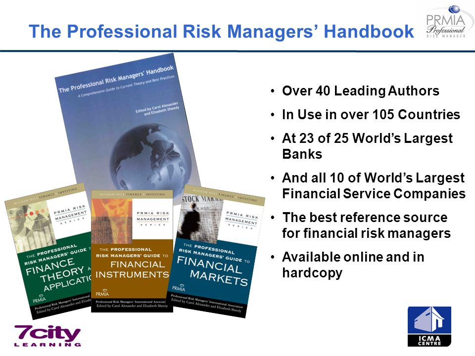 The Professional Risk Managers' Handbook