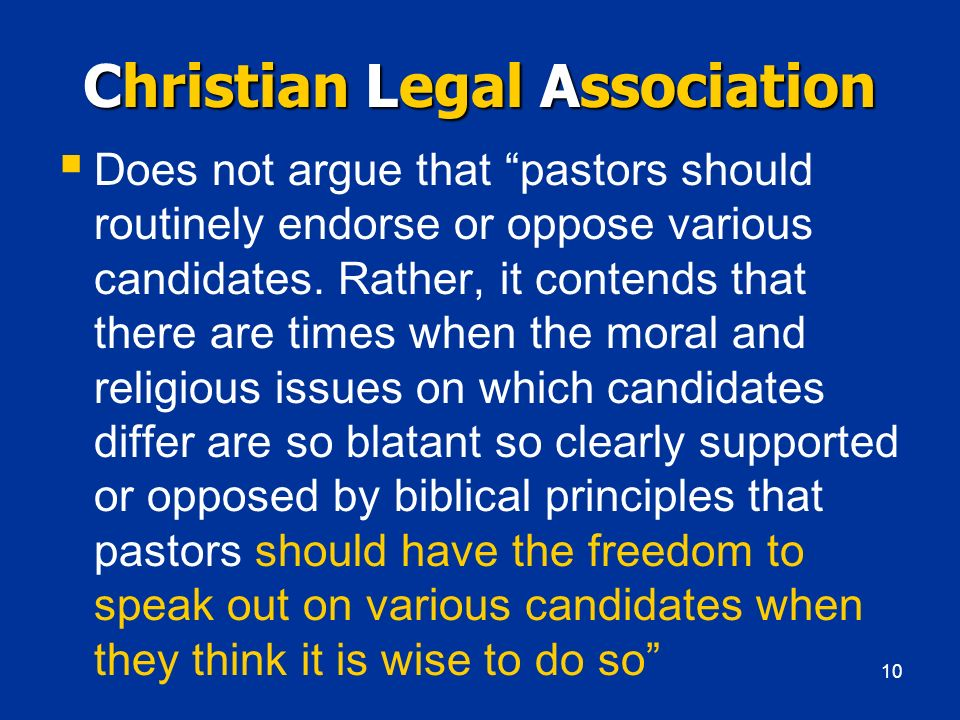 Christian Legal Association