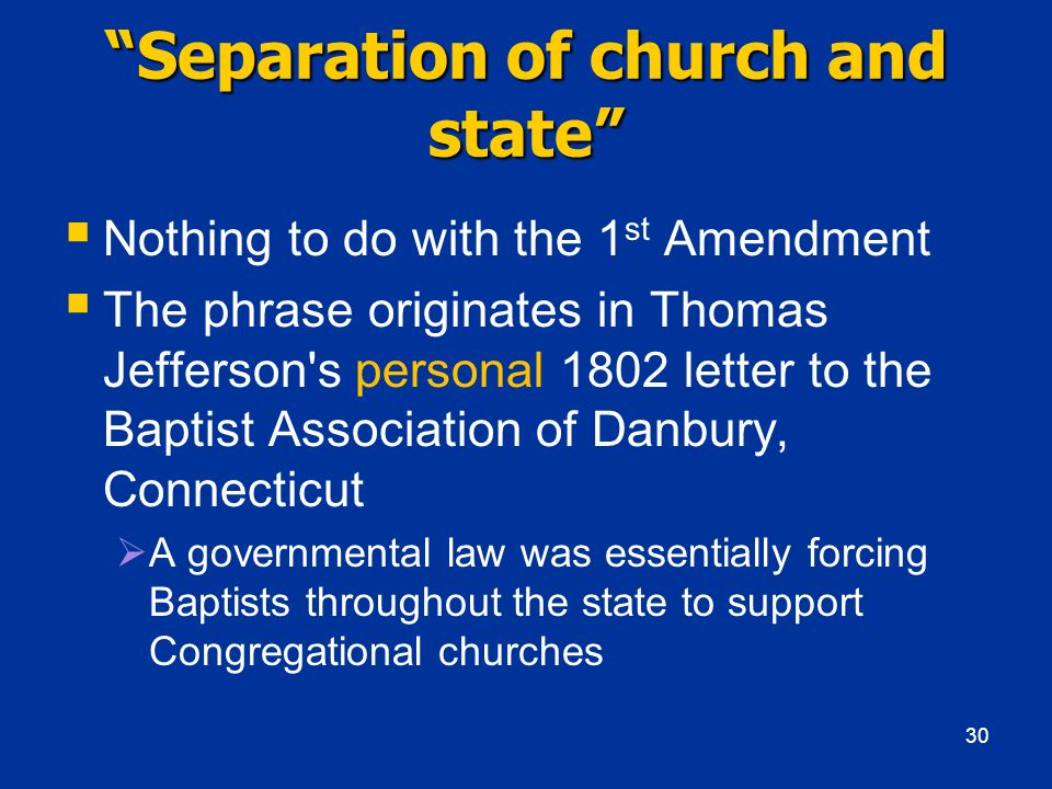 separation of church and state is necessary History of the separation of church and state in america  deism, then, teaches us, without the possibility of being deceived, all that is necessary or proper to be known the creation is the bible of the deist he there reads, in the handwriting of the creator himself, the certainty of his existence and the immutability of his power, and.