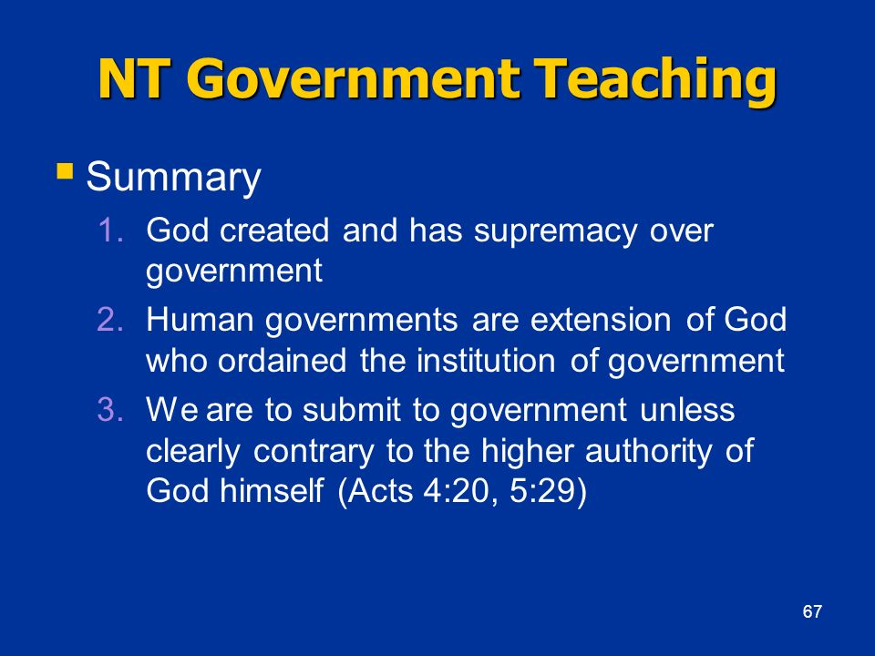 NT Government Teaching