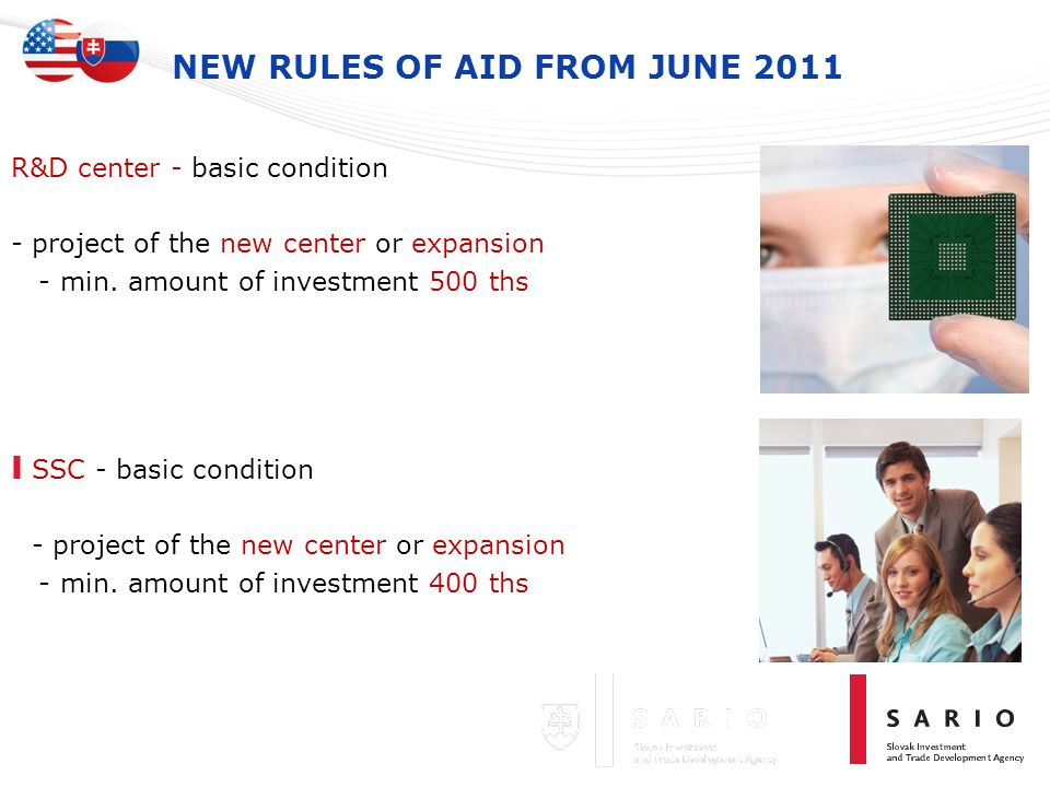 NEW RULES OF AID FROM JUNE 2011