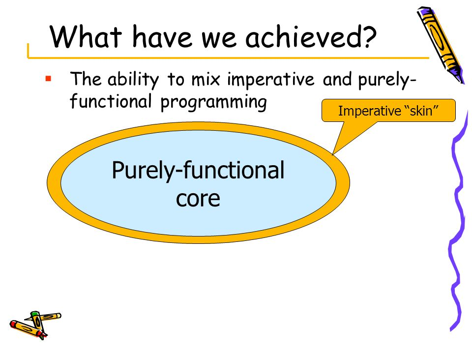 Purely-functional core