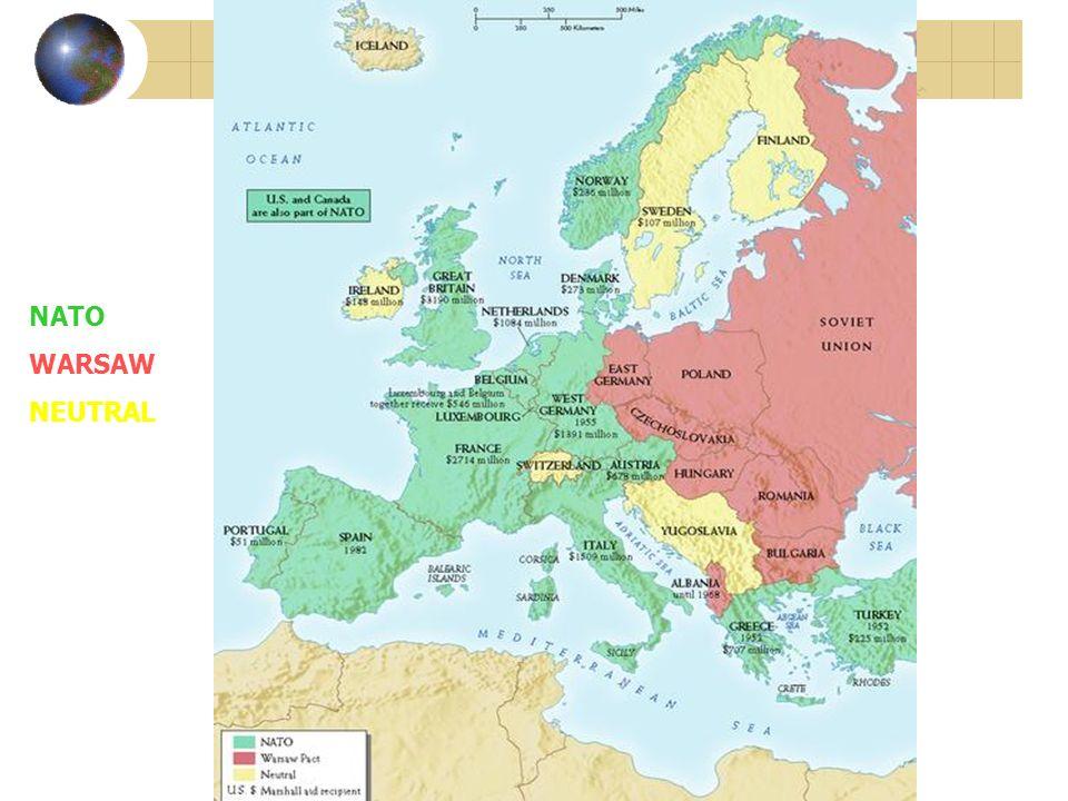 NATO WARSAW NEUTRAL