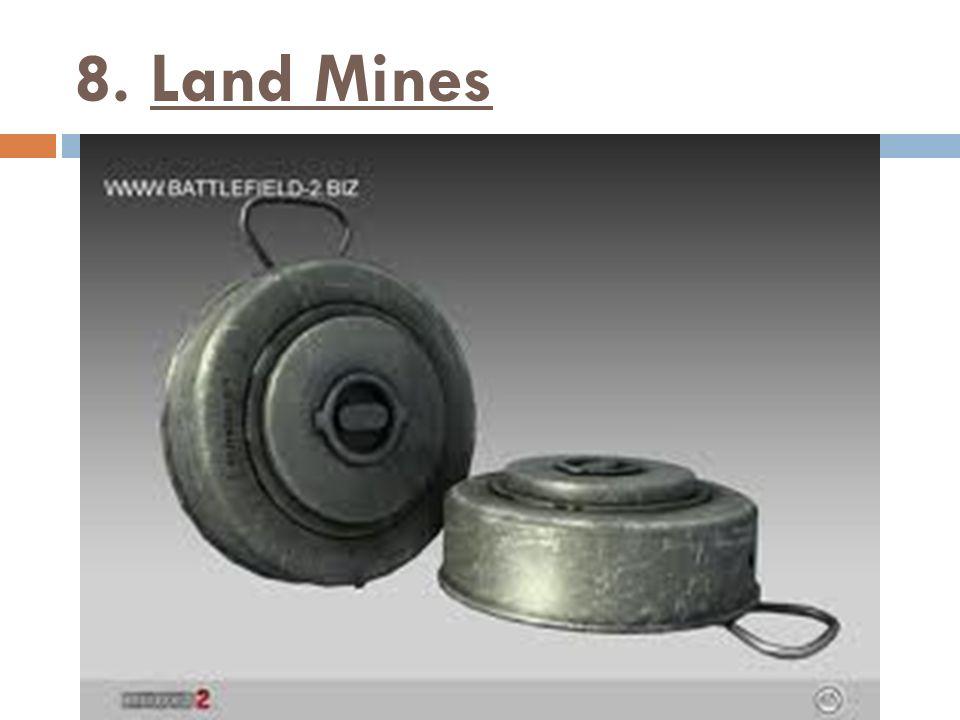 8. Land Mines