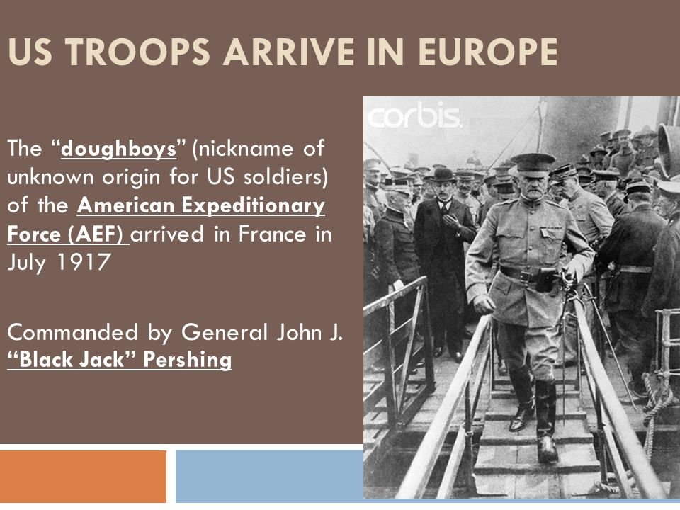 US Troops Arrive in Europe