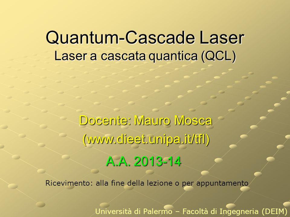 Quantum-Cascade Laser Laser a cascata quantica (QCL)
