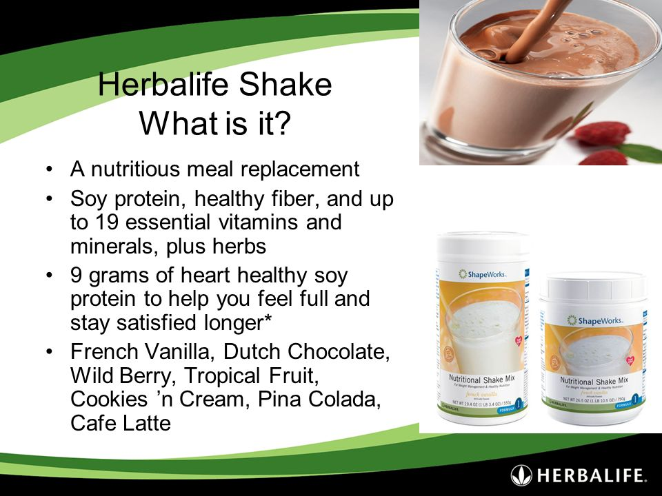 Herbalife Shake What is it