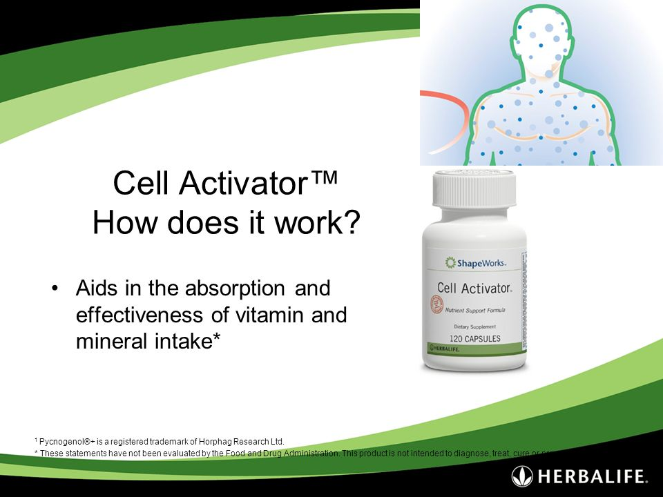 Cell Activator™ How does it work
