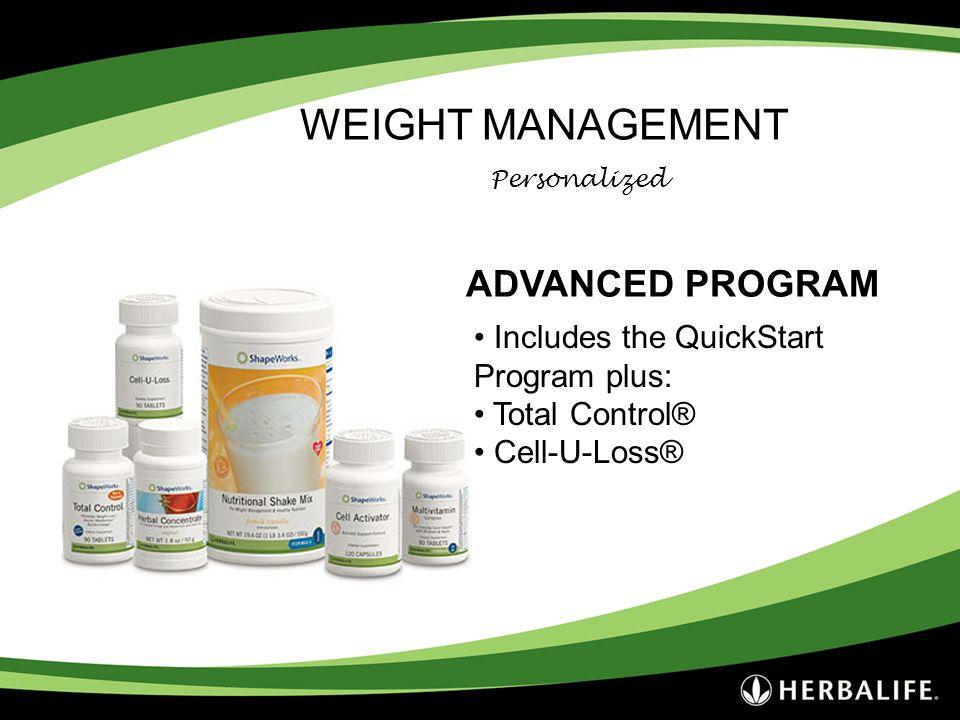 WEIGHT MANAGEMENT ADVANCED PROGRAM