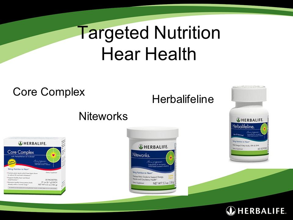 Targeted Nutrition Hear Health