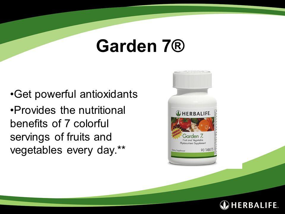 Garden 7® Get powerful antioxidants