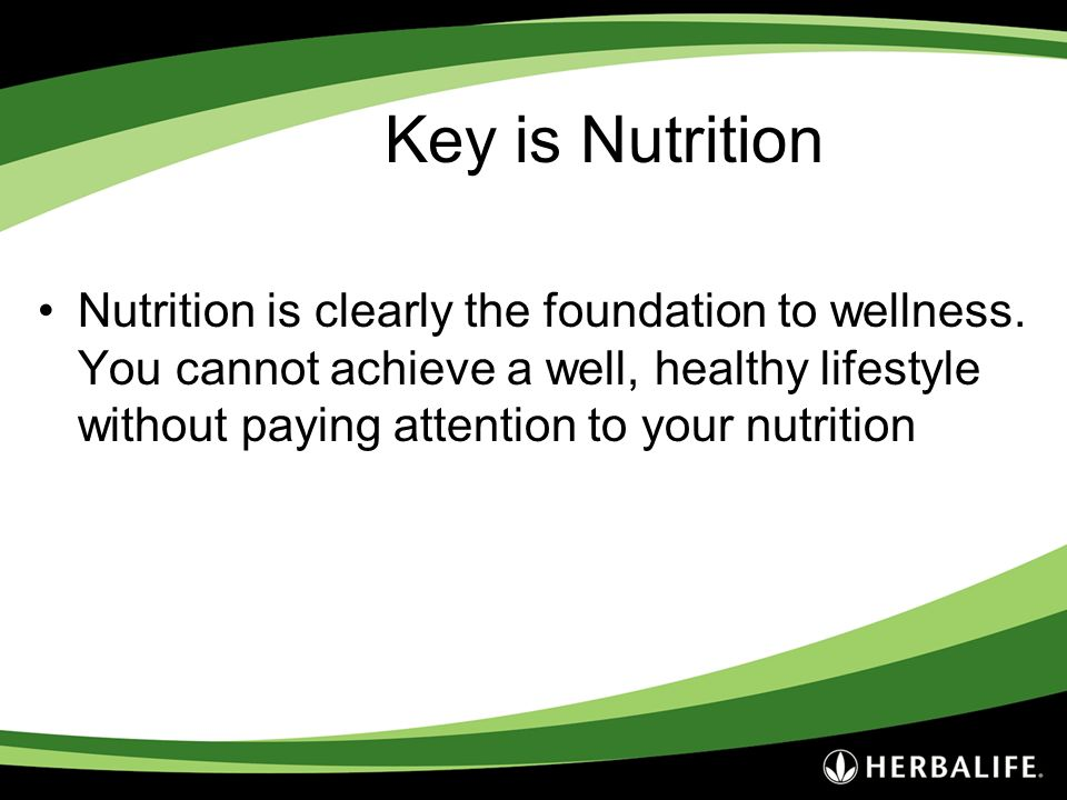 Key is Nutrition