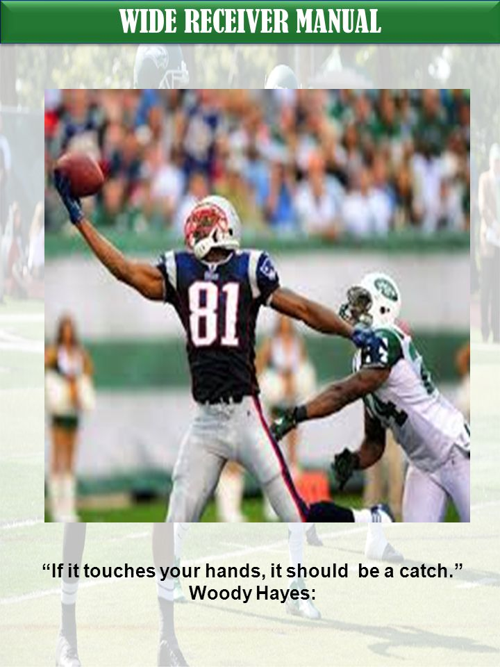 If it touches your hands, it should be a catch.