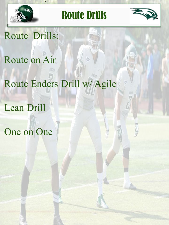 Route Enders Drill w/ Agile Lean Drill One on One