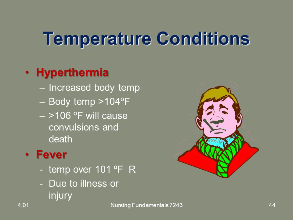Temperature Conditions