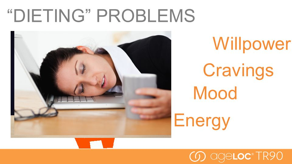DIETING PROBLEMS Willpower Cravings Mood Energy