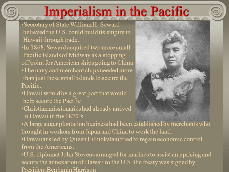 Imperialism in the Pacific