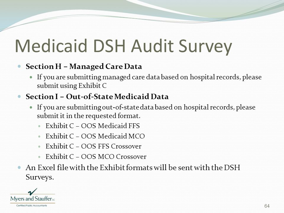 Medicaid DSH Audit Survey