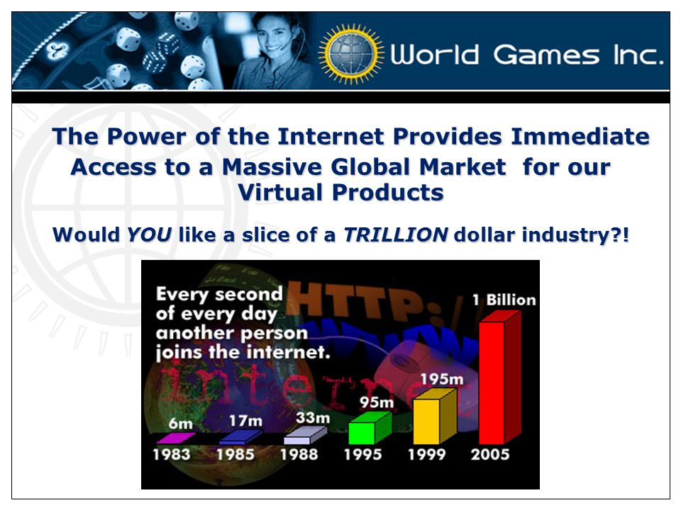 Would YOU like a slice of a TRILLION dollar industry !