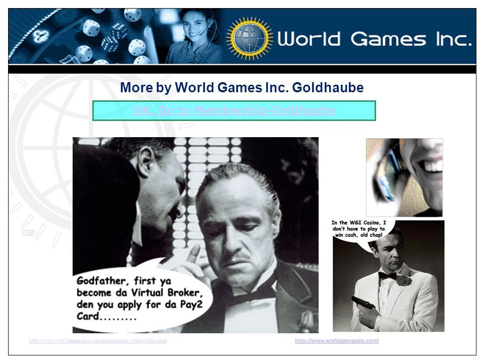 More by World Games Inc. Goldhaube OK, Go to Membership-Goldhaube