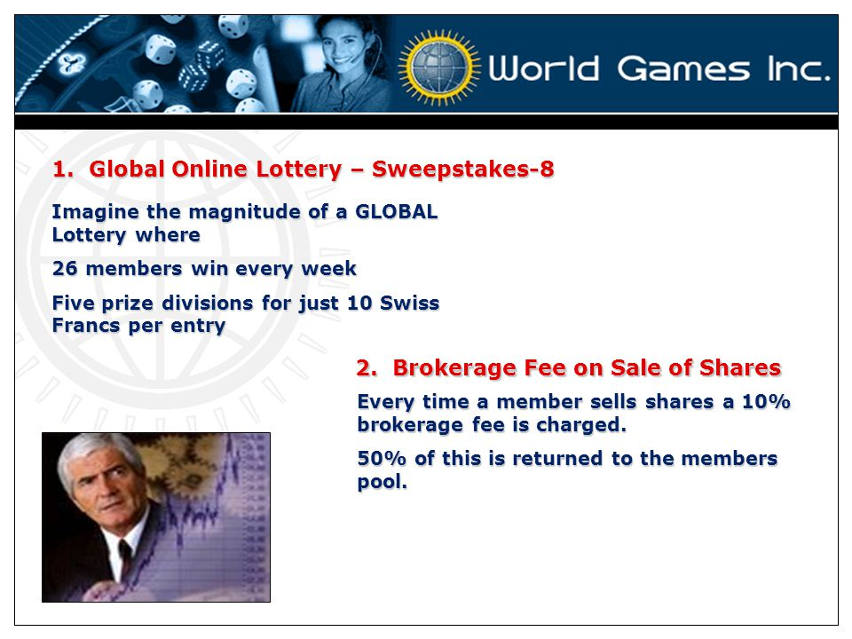 1. Global Online Lottery – Sweepstakes-8