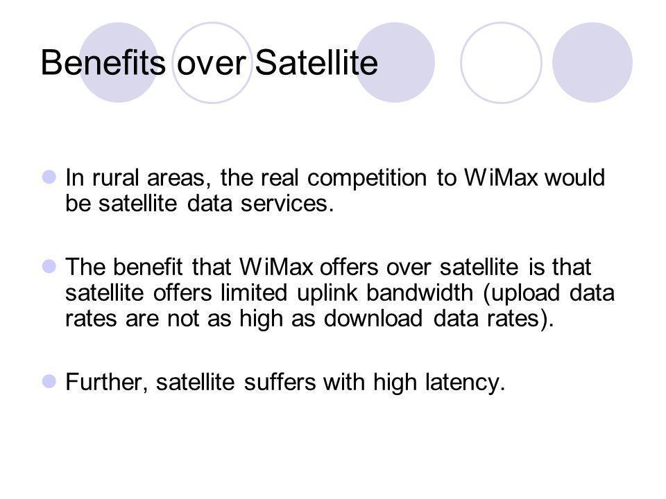 Benefits over Satellite