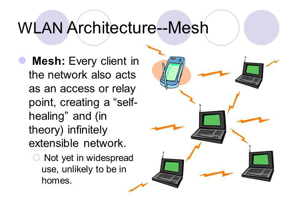 WLAN Architecture--Mesh
