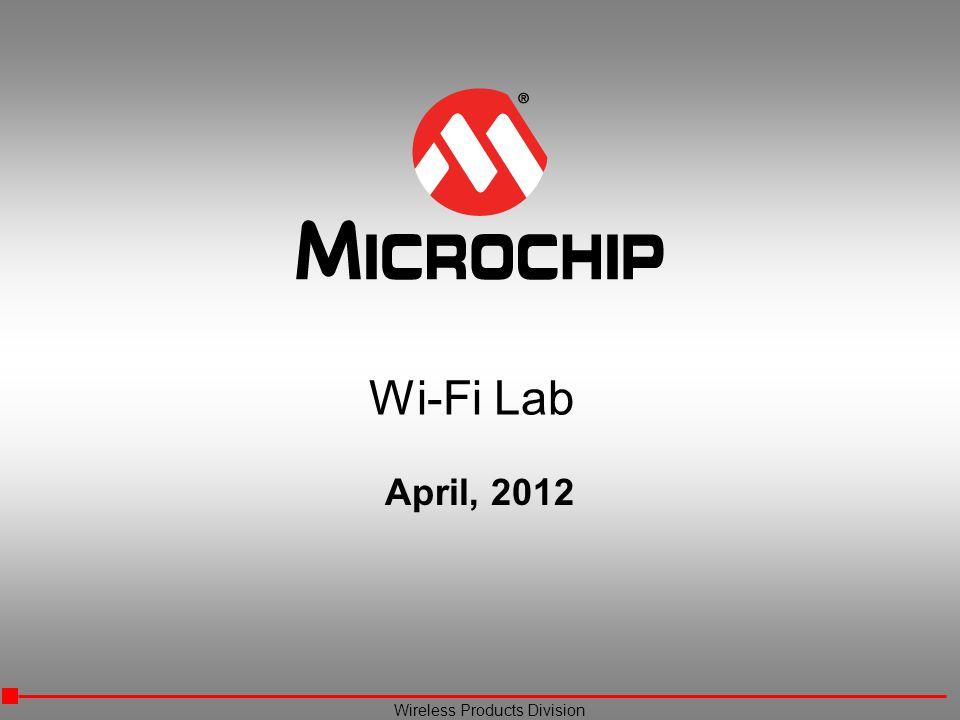 Wi-Fi Lab April, 2012