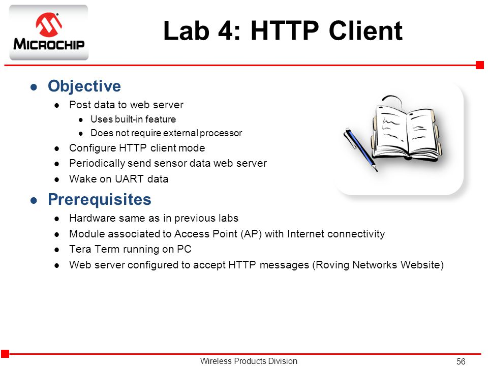 Lab 4: HTTP Client Objective Prerequisites Post data to web server