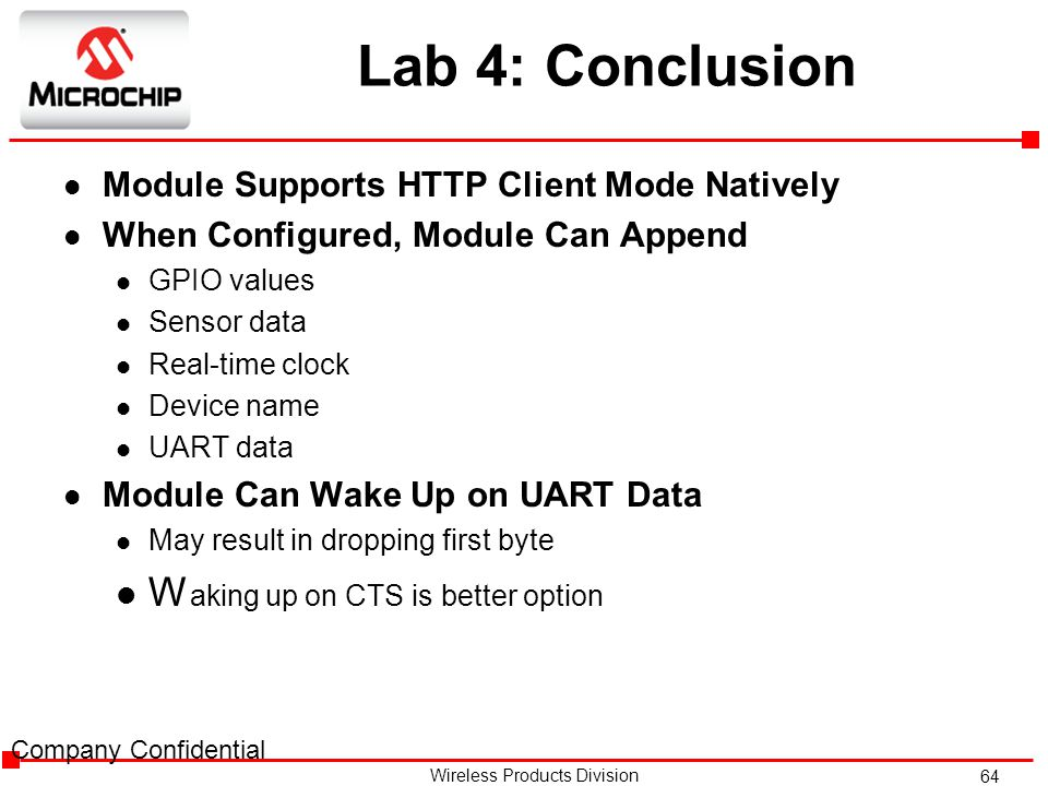 Lab 4: Conclusion Waking up on CTS is better option