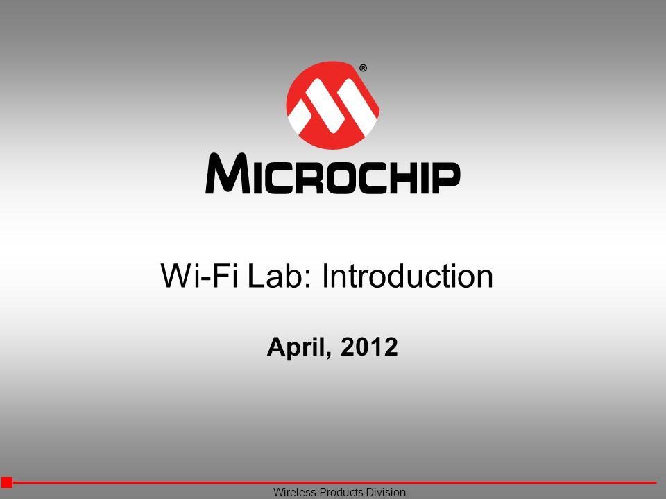 Wi-Fi Lab: Introduction