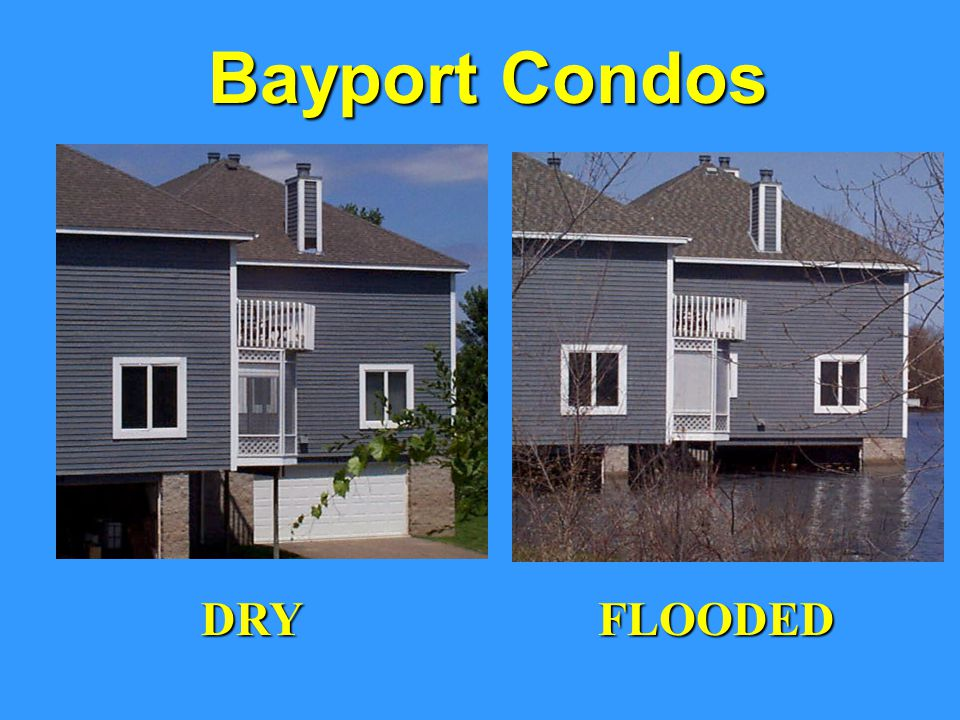 Bayport Condos DRY FLOODED