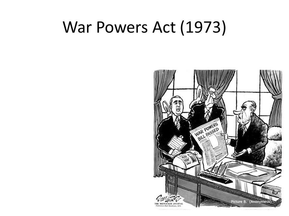 War Powers Act (1973)