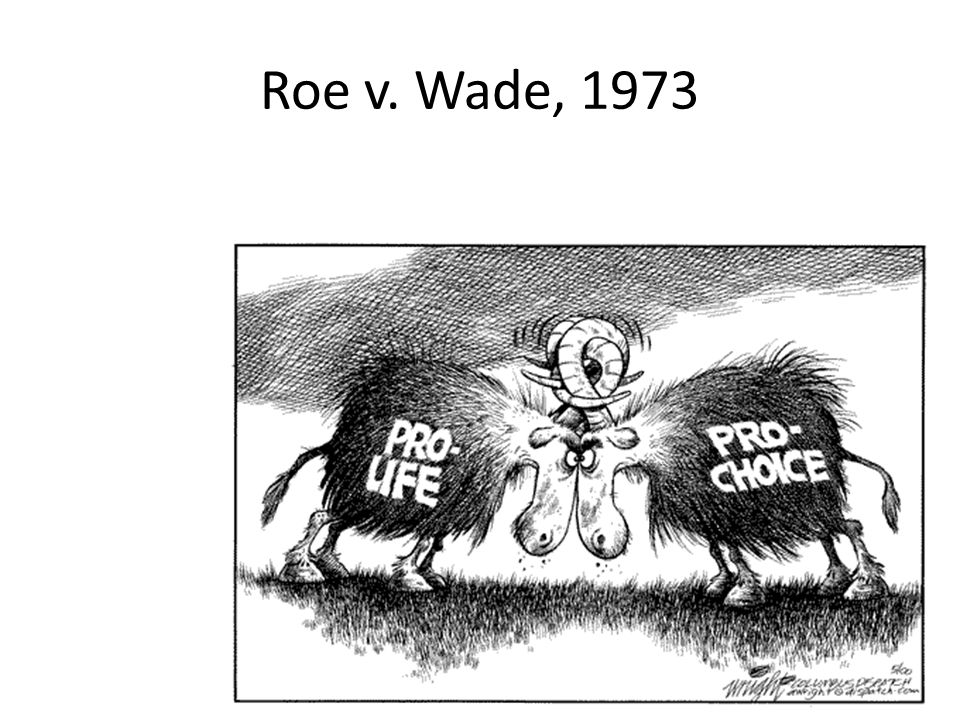 Roe v. Wade and its Effects on Society