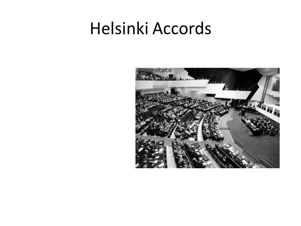 Helsinki Accords