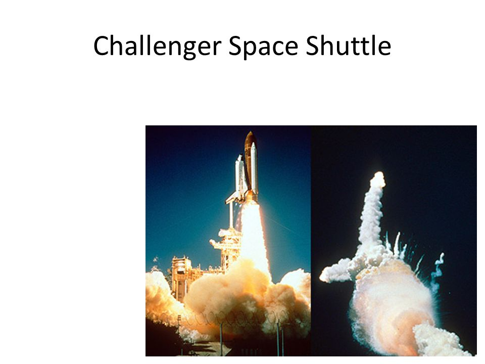 Challenger Space Shuttle