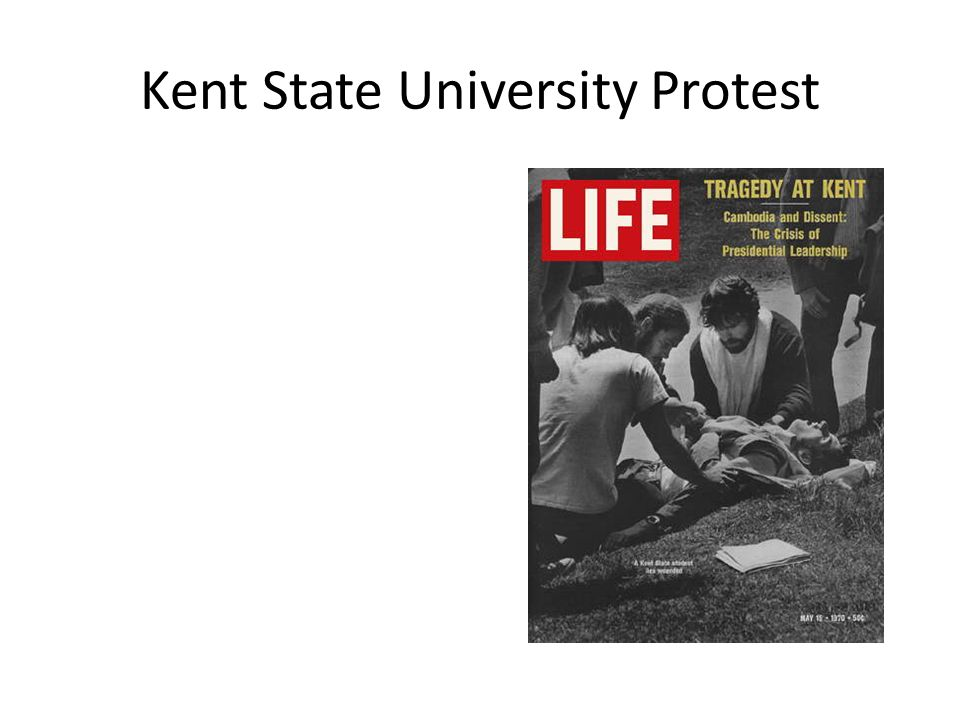 Kent State University Protest