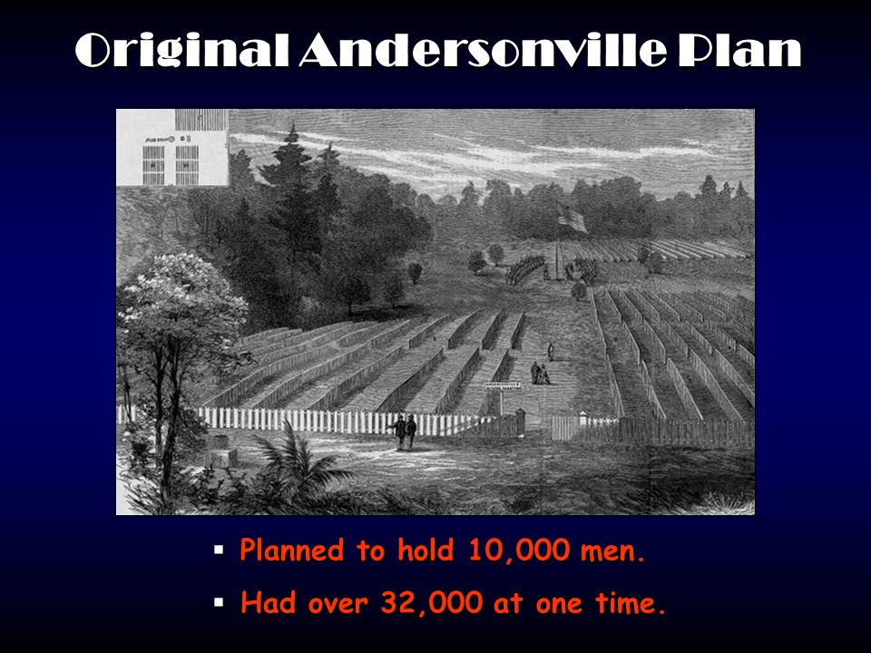 Original Andersonville Plan