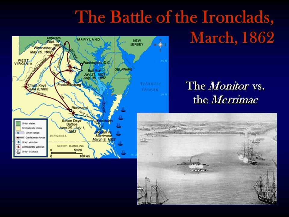 The Monitor vs. the Merrimac