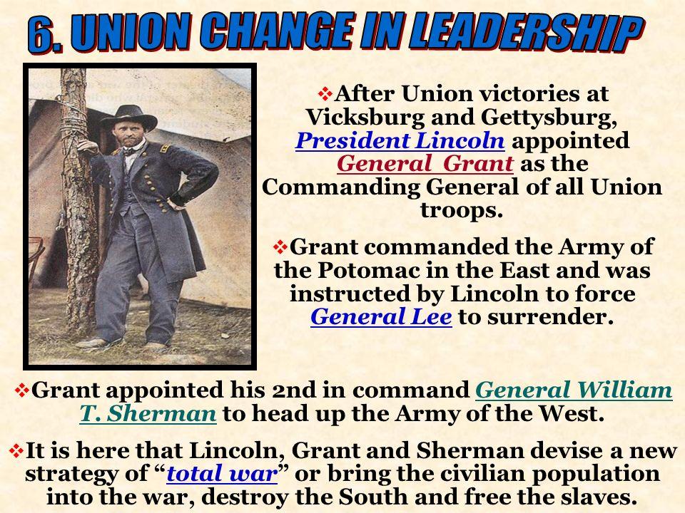6. UNION CHANGE IN LEADERSHIP