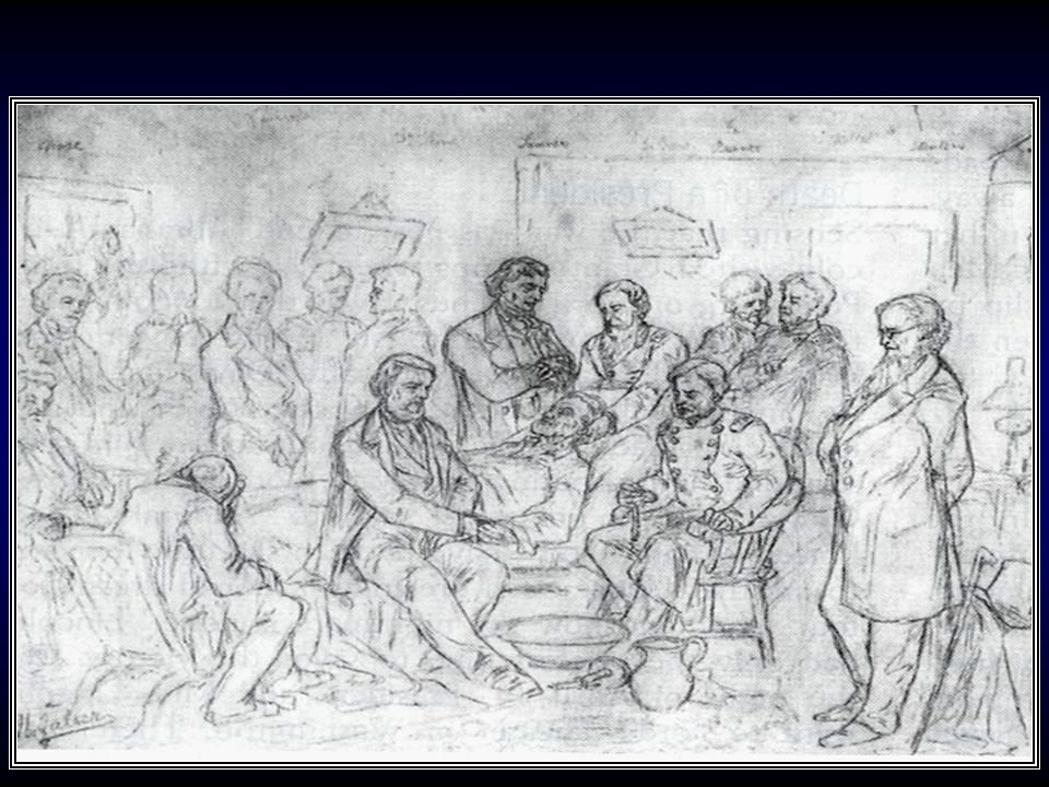 Sketch of Lincoln's death