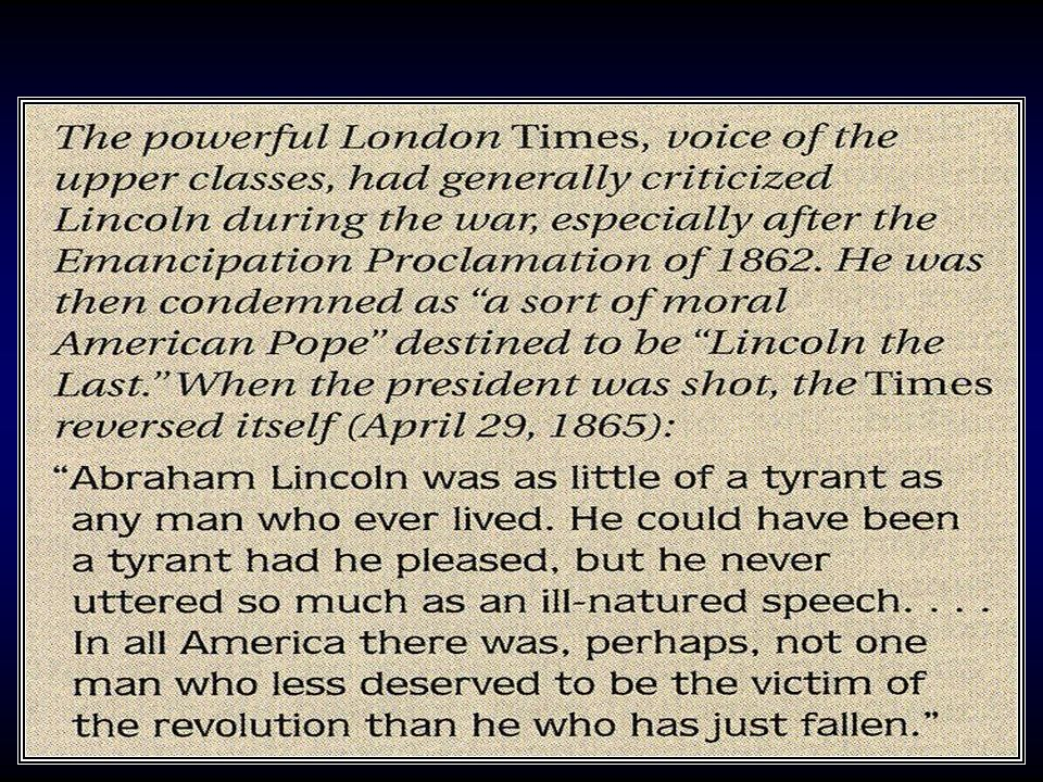 Document: Lincoln's death