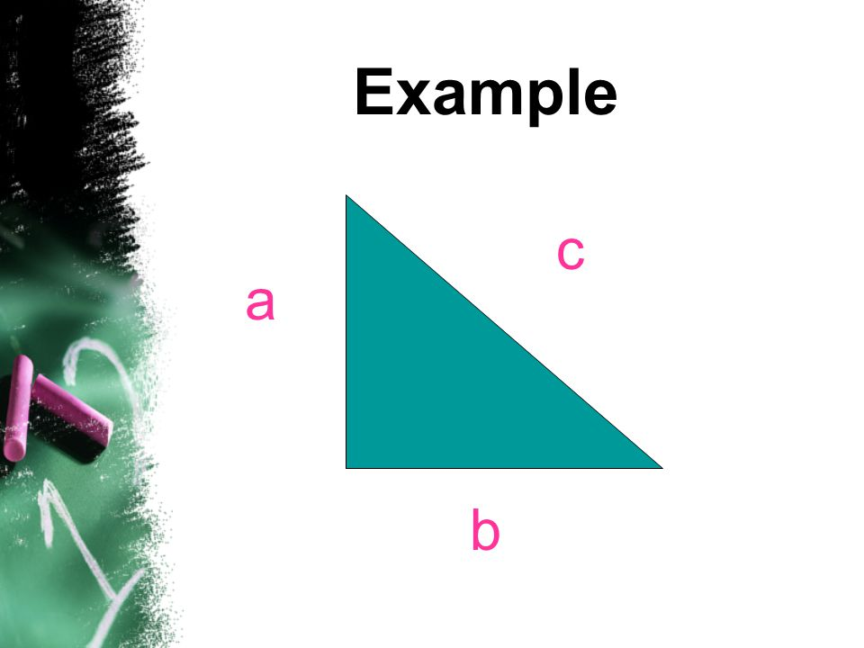 Example c a b